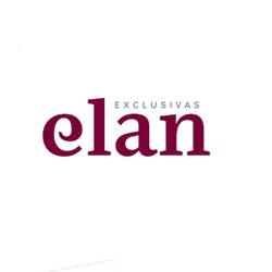 Diseño del logotipo y la papelería corporativa de Exclusivas Elan, especialistas en embutidos - Snik Comunicación