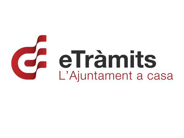 Logotipos para el servicio eTramits del Ajuntament de Tarragona - Snik Comunicación