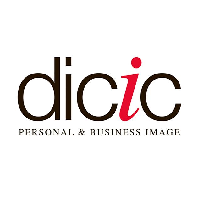 Diseño del logotipo de Dicic, empresa de imagen personal y profesional - Snik Comunicación