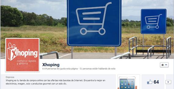 Servicios de Community Manager para Xhoping por Snil Comunicación