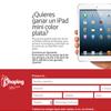 Creación de un landing para Xhoping con motivo del sorteo de un iPad Mini  - Snik Comunicación