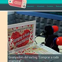 Nuevo web de la ACRRB, Asociación de Comerciantes y Restauradores de Roda de Bará