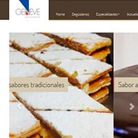 Web de la Pastisseria Geneve