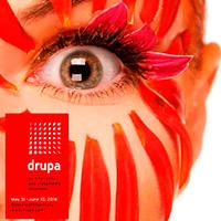 Diseño del web de la feria DRUPA, de Chimigraf