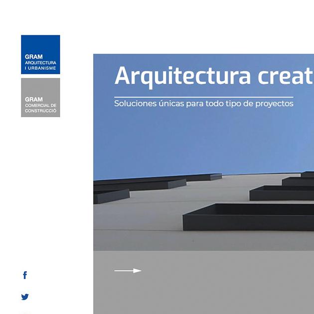 Web de Gram Arquitectura