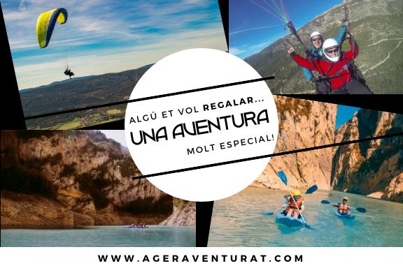 Regalar aventura, a la Vall d'ager i al congost de mont-rebei