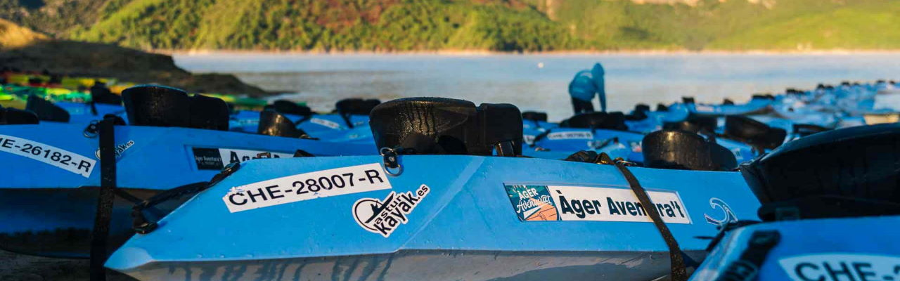 Alquiler de kayak Mont-rebei