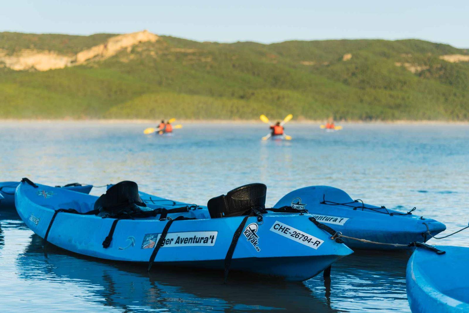 kayaks, � ger, congost, montrebei, fet, canelles, finestres, corç� , barco