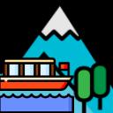 Paseo barco Trekking