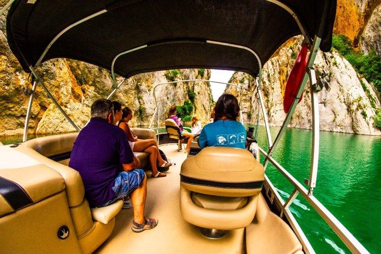 Passeig en catamarà