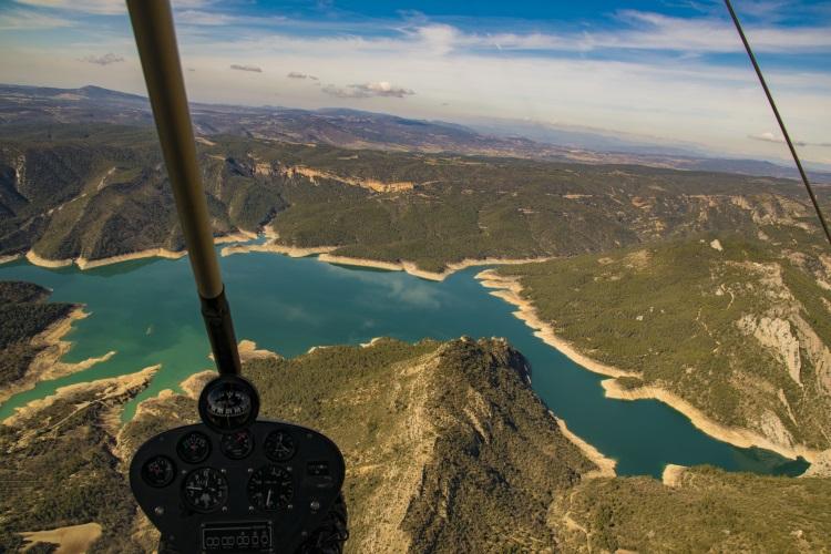 Parapent biplaça a la Vall d'Àger