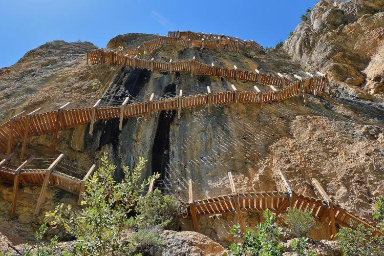 Kayak i trekking Mont-rebei – Aragó
