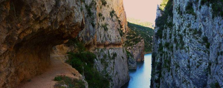 kayak i senderisme Arago Vall d'� ger