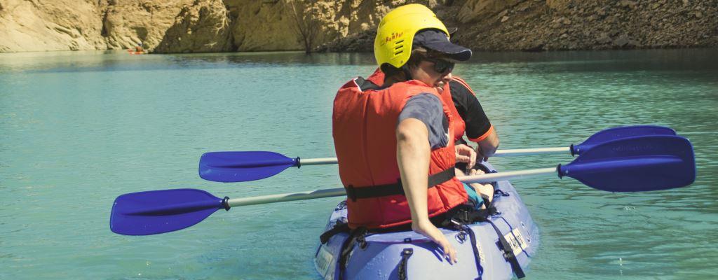 Remar per les aigües de Mont-rebei