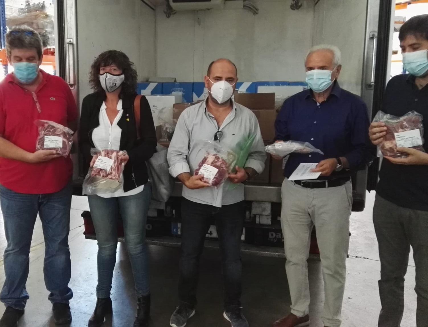 La Consellera Jordà presenta els ajuts d'Agricultura als petits productors des del Banc dels Aliments de les comarques de Lleida