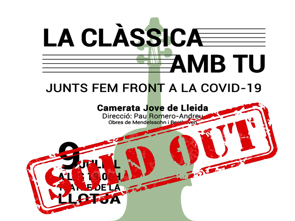 """Lleida.net compra totes les entrades del concert """"la clàssica amb tu"""""""