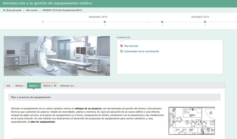 Curs online: introducció a la gestió d'equipament biomèdic