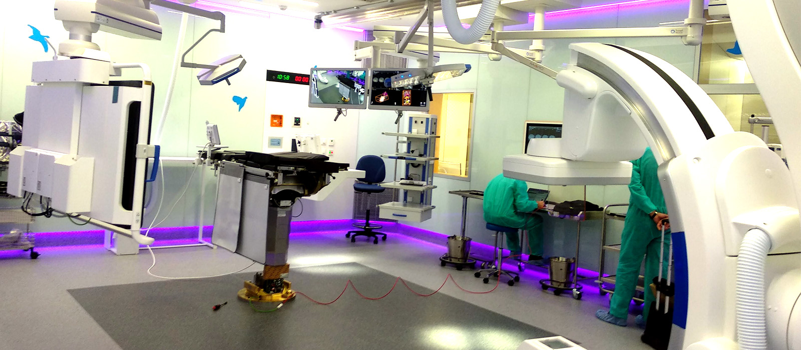 New surgical theatres at Sant Joan de Deu Hospital in Barcelona