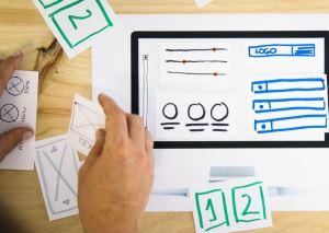 Website wireframes: Què són i com diferenciar-los dels mockups i dels prototips.