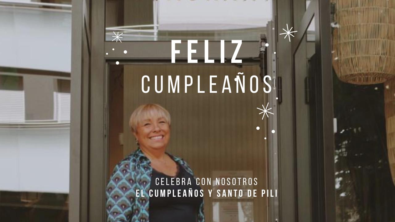 Celebramos el cumpleaños de Pili