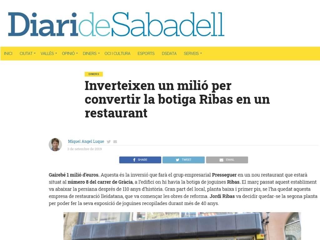 Presseguer en Diari Sabadell