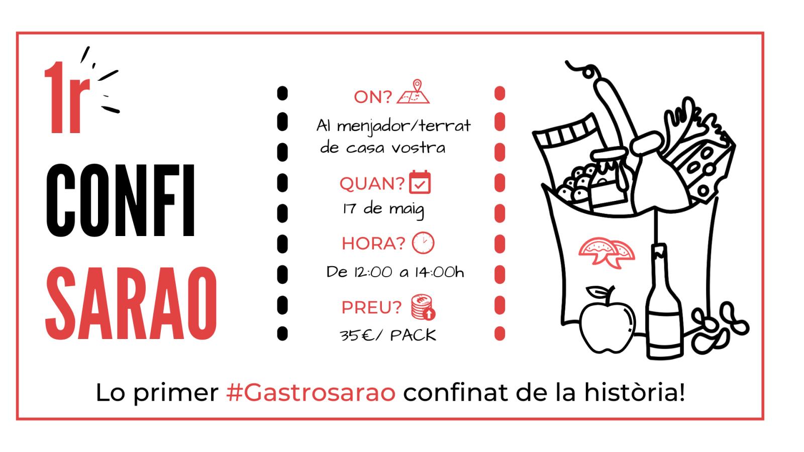 1r CONFISARAO | LO PRIMER GASTROSARAO CONFINAT DE LA HISTÒRIA