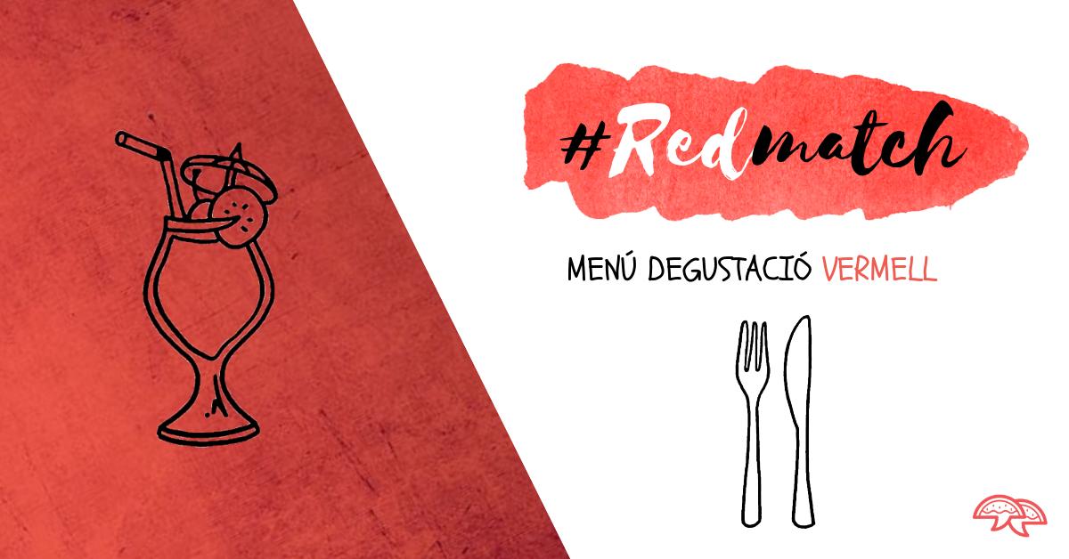 Redmatch, ens ho juguem tot al roig! #Gastrosaraos2019