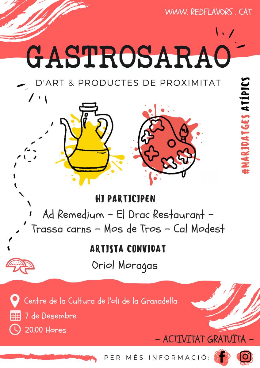 Cartell gastrosarao Desembre | Red Flavors