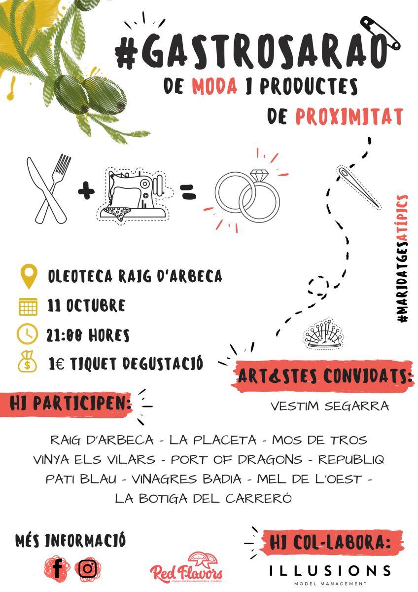 #Gastrosarao | 11 oct - 21h