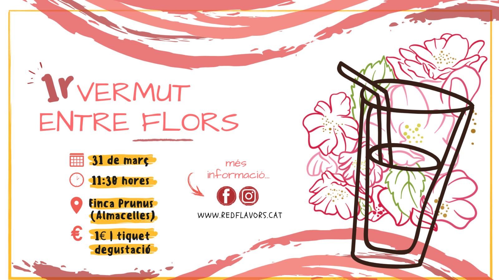I Vermut entre flors | Finca Prun·us