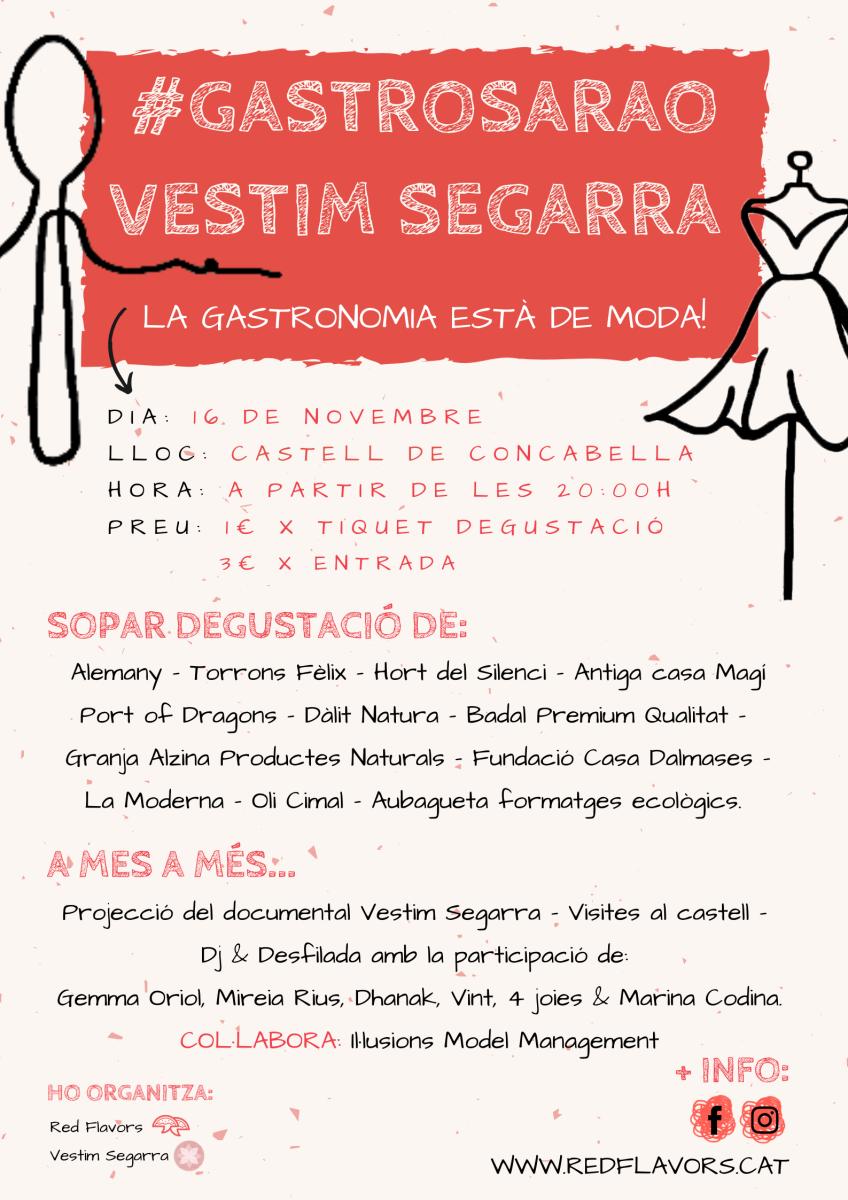 Gastrosarao Vestim Segarra | Concabella