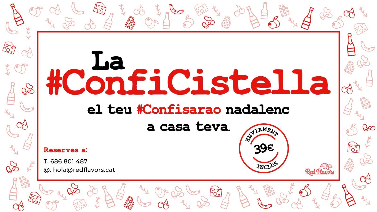 #Conficistella | El #confisarao nadalenc a casa teva!