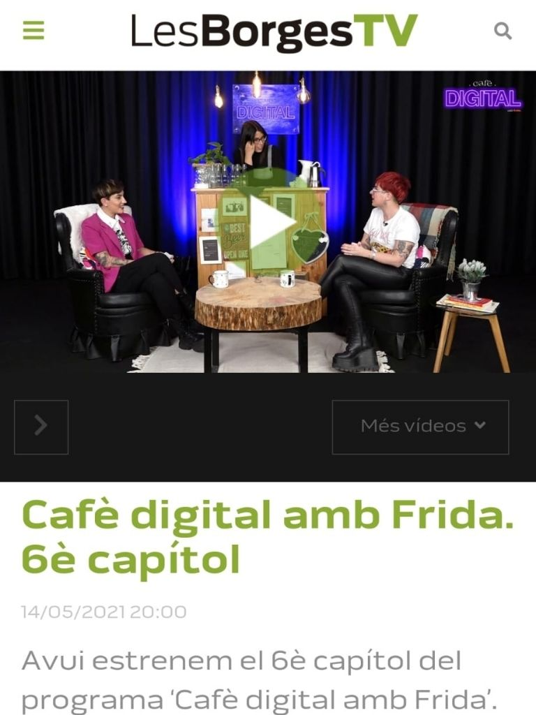 Cafè digital amb Frida