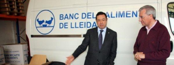 L'Aeroport d'Alguaire lliura al Banc dels Aliments més de 300 quilos de productes d'higiene requisats als passatgers per motius de seguretat
