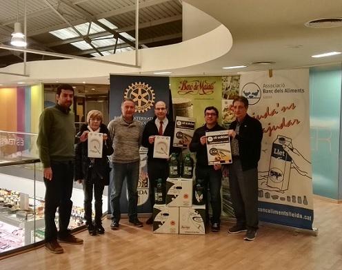 Campanyes del Banc dels Aliments,Parròquia St. Martí i Rotary Club Lleida