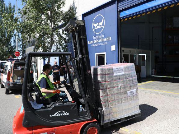 Donació de 8000 quilos de llenties per part de MERCADONA