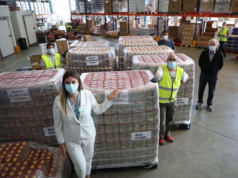 Mercadona dona 8000 quilos de llenties