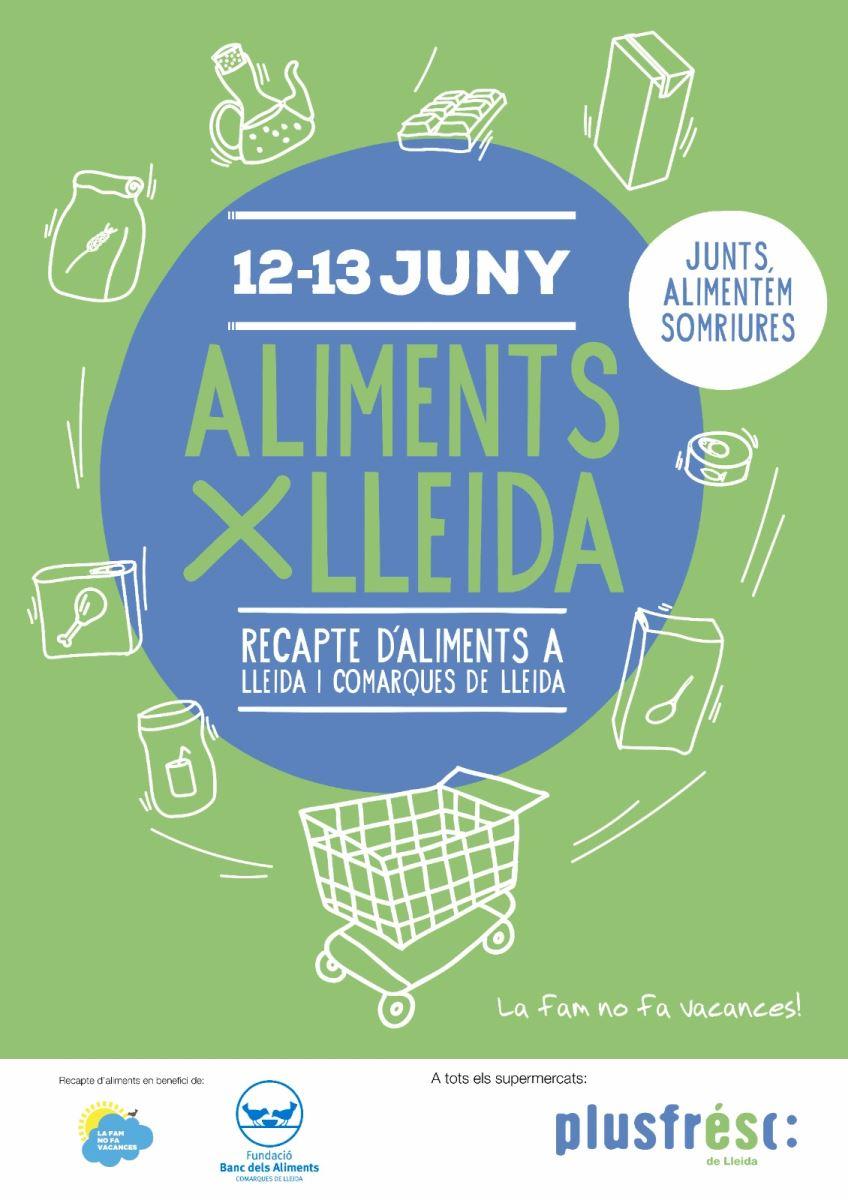 Aliments per Lleida