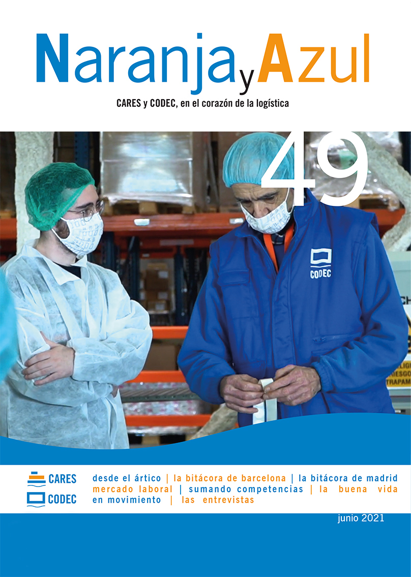 Revista 'Naranja y Azul' 49 (juny 2021)
