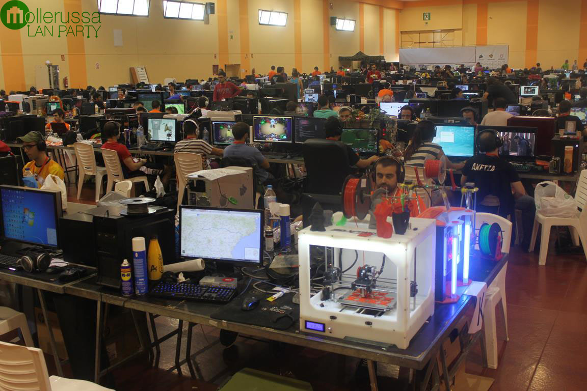 Mollerussa Lan Party Sèptima Edició Any 2014