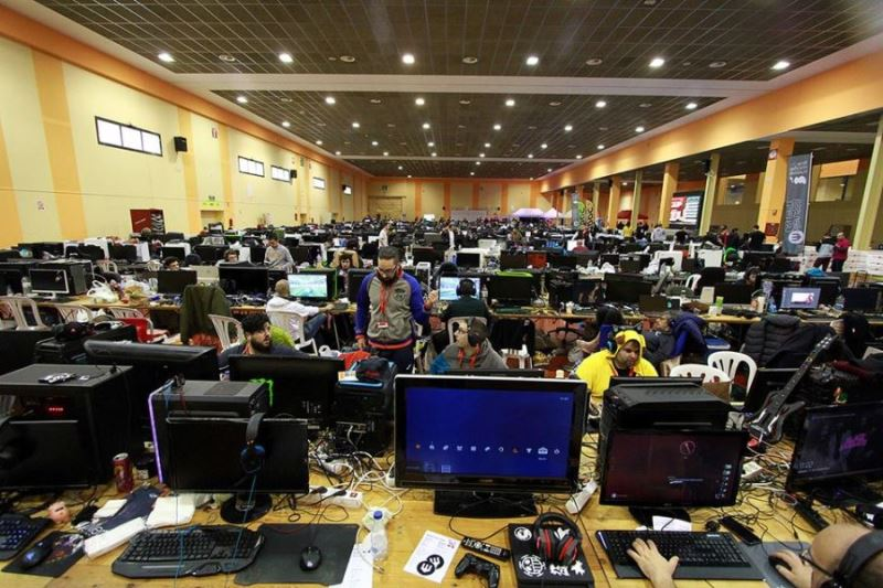 Vista de la Mollerussa Lan Party 2017