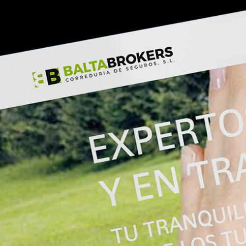 Creación de página web para correduría de seguros