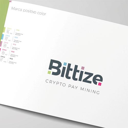 Diseño de la marca Bittize