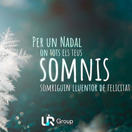 Diseño de postal de Navidad LR Group