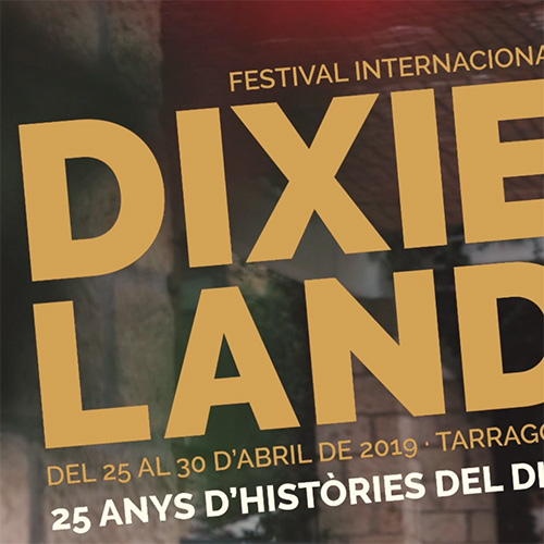 Campaña publicitaria en redes sociales del festival de música Dixieland