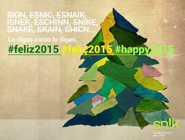 Imagen de Desde nuestro estudio de comunicación diseño deseamos felices fiestas próspero año 2015