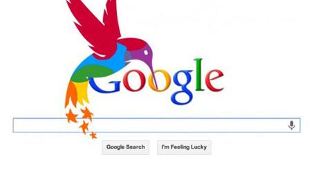 Google voleteja entre les flors