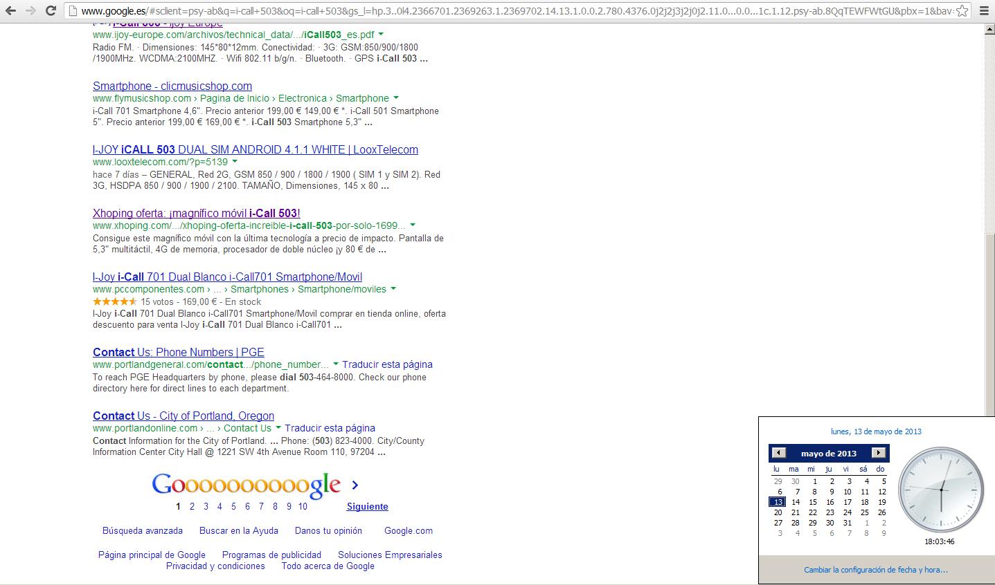 Salir en la primera página de Google por Snik Comunicación
