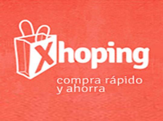 Splash de la web de Xhoping durante el desarrollo de la misma - Snik Comunicación