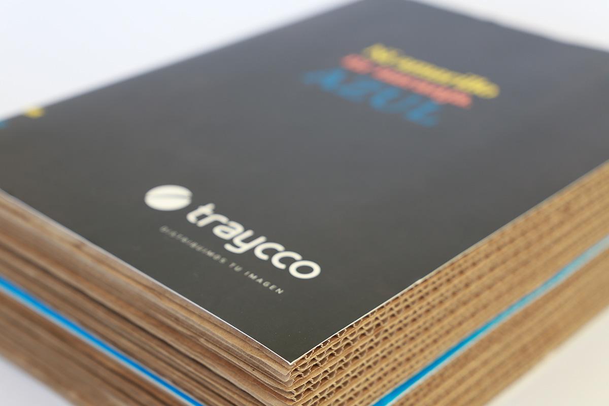 Esta campaña de Marketing Directo conceptualizada, diseñada y producida para Traycco tenía como objetivo conseguir nuevos clientes mediante un mensaje creativo, original y argumentado con las ventajas y beneficios de los servicios de la empresa.